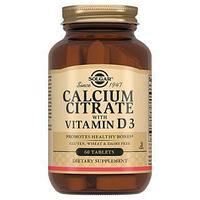 Solgar Цитрат кальция с витамином Д3 №60 табл.