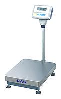 Весы CAS HD-60 (60(30)кг/20(10)г) товарные