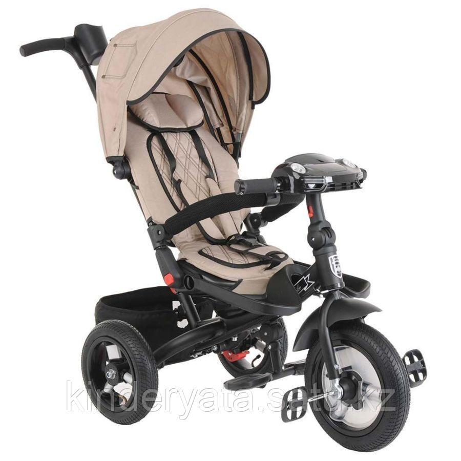 """Mini Trike Велосипед  3-х колесный, бежевый, надувные колеса12""""/10"""""""