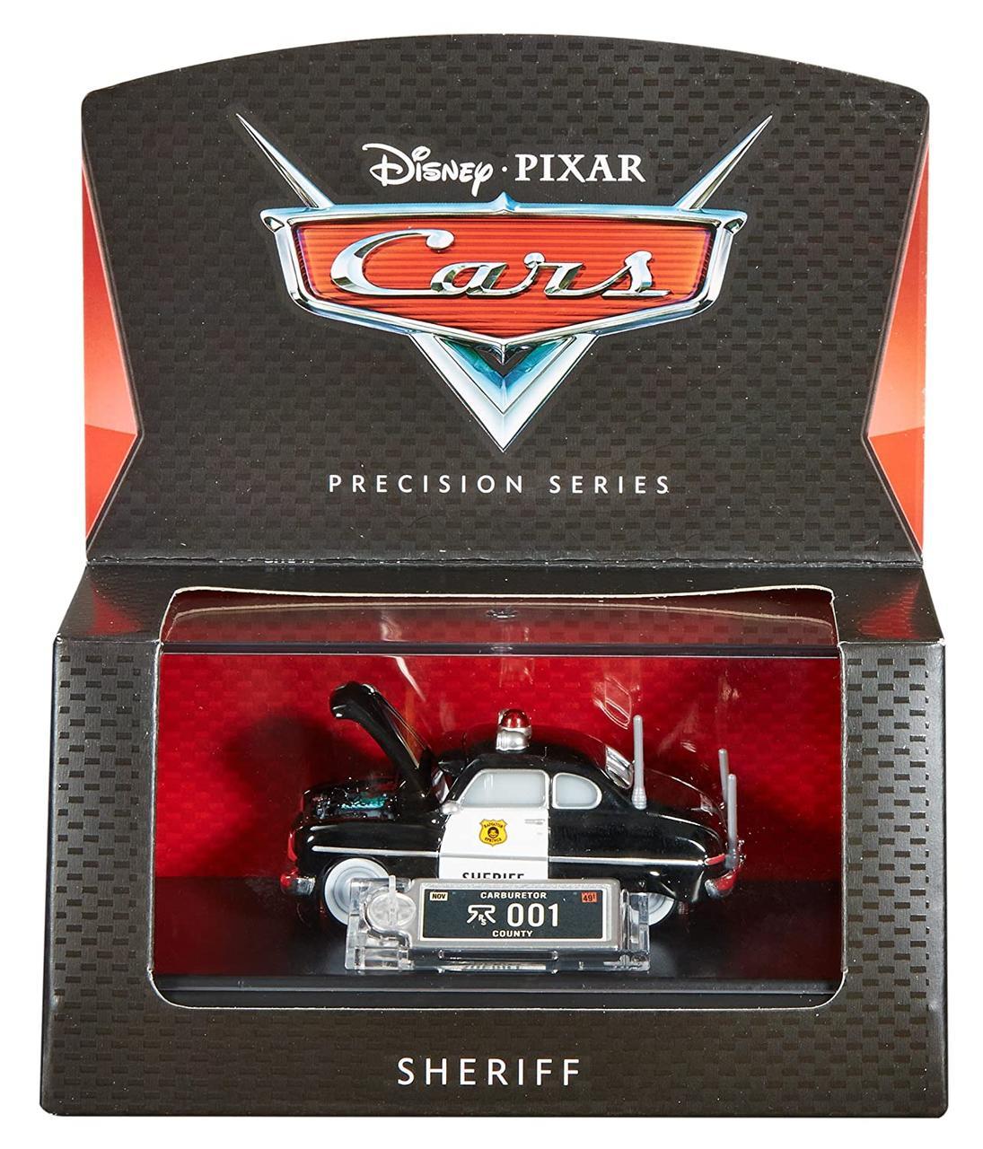 Cars / Тачки Коллекционная Детальная модель Шериф, в кейсе