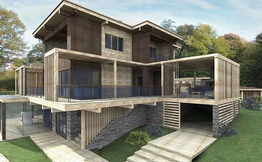 Проект дома №3334