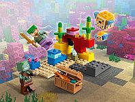 LEGO Minecraft 21164 Коралловый риф, конструктор ЛЕГО