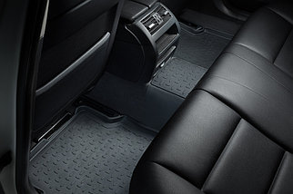 Резиновые коврики с высоким бортом для Toyota Land Cruiser PRADO 150 2009-н.в., фото 3