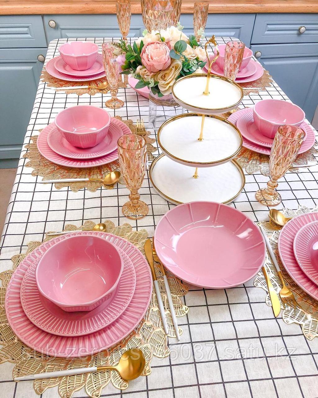 Сервиз «Royal Pink» на 6 персон за 47.700тг