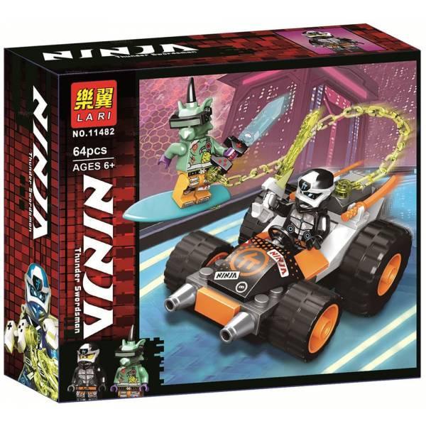 Lari Ninja 11482 Конструктор Скоростной автомобиль Коула (Аналог LEGO 71706)