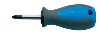 Отвёртка крестовая PH укороченная, рукоятка TBI - 626TBI UNIOR
