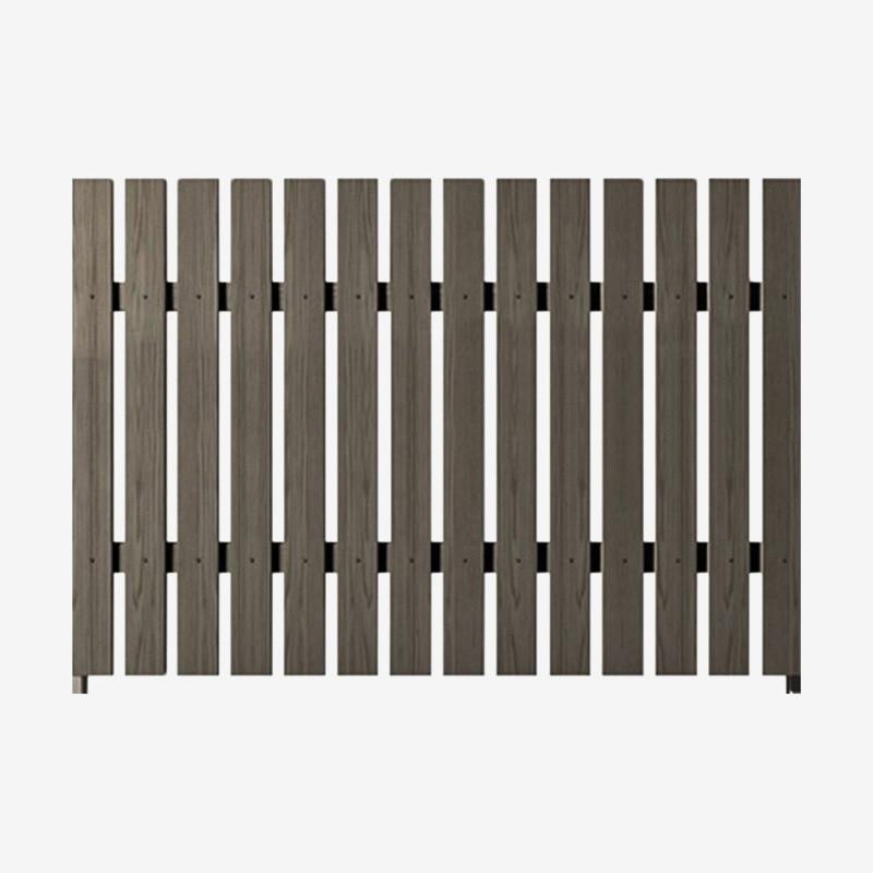 Забор из ДПК Штакетник классический 2*2м  (RusDecking)