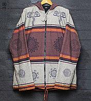Непальская куртка с этническими рисунками