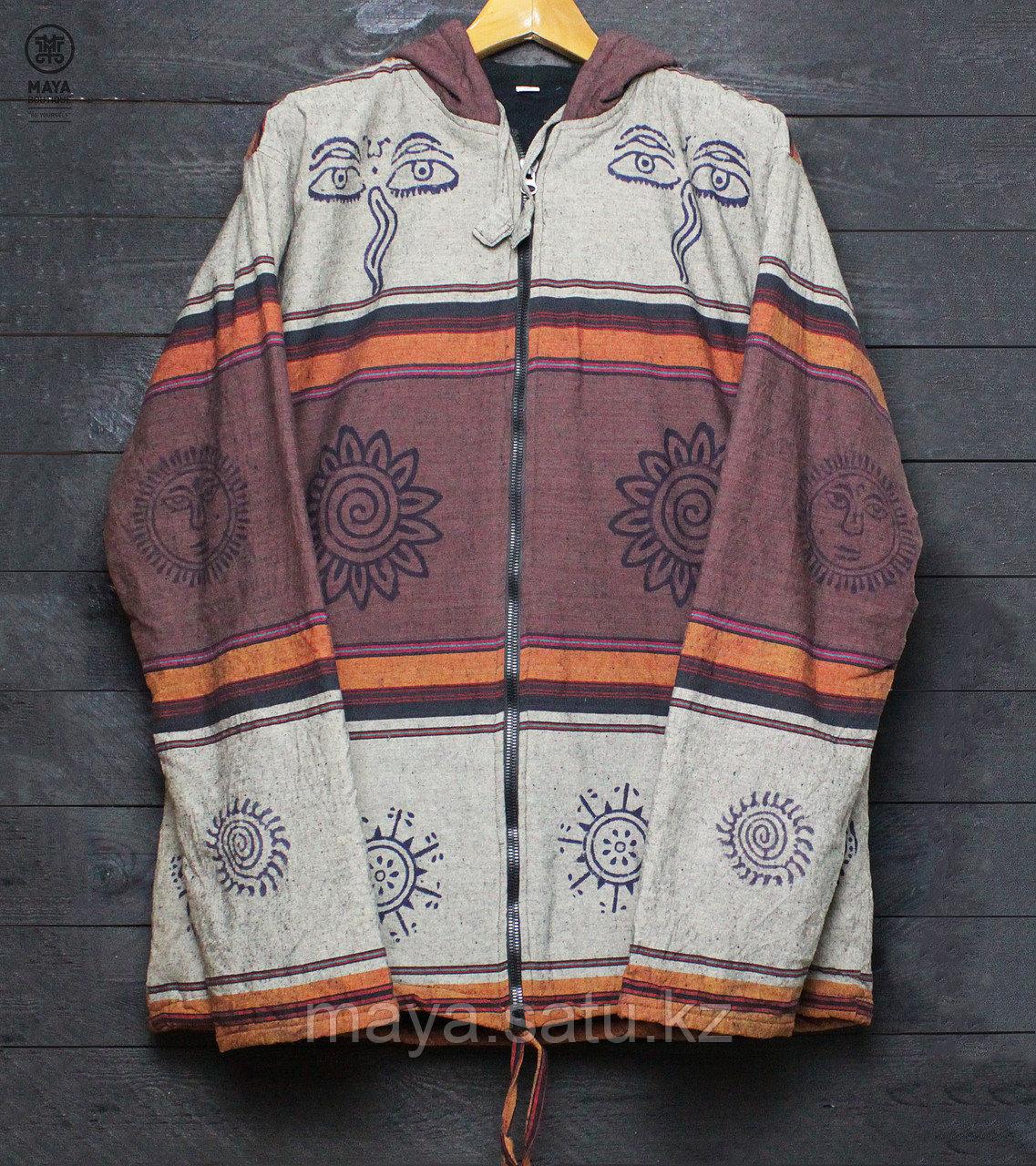 Непальская куртка с этническими рисунками - фото 1