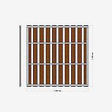 Забор из ДПК Штакетник классический 2*2м  (RusDecking), фото 3