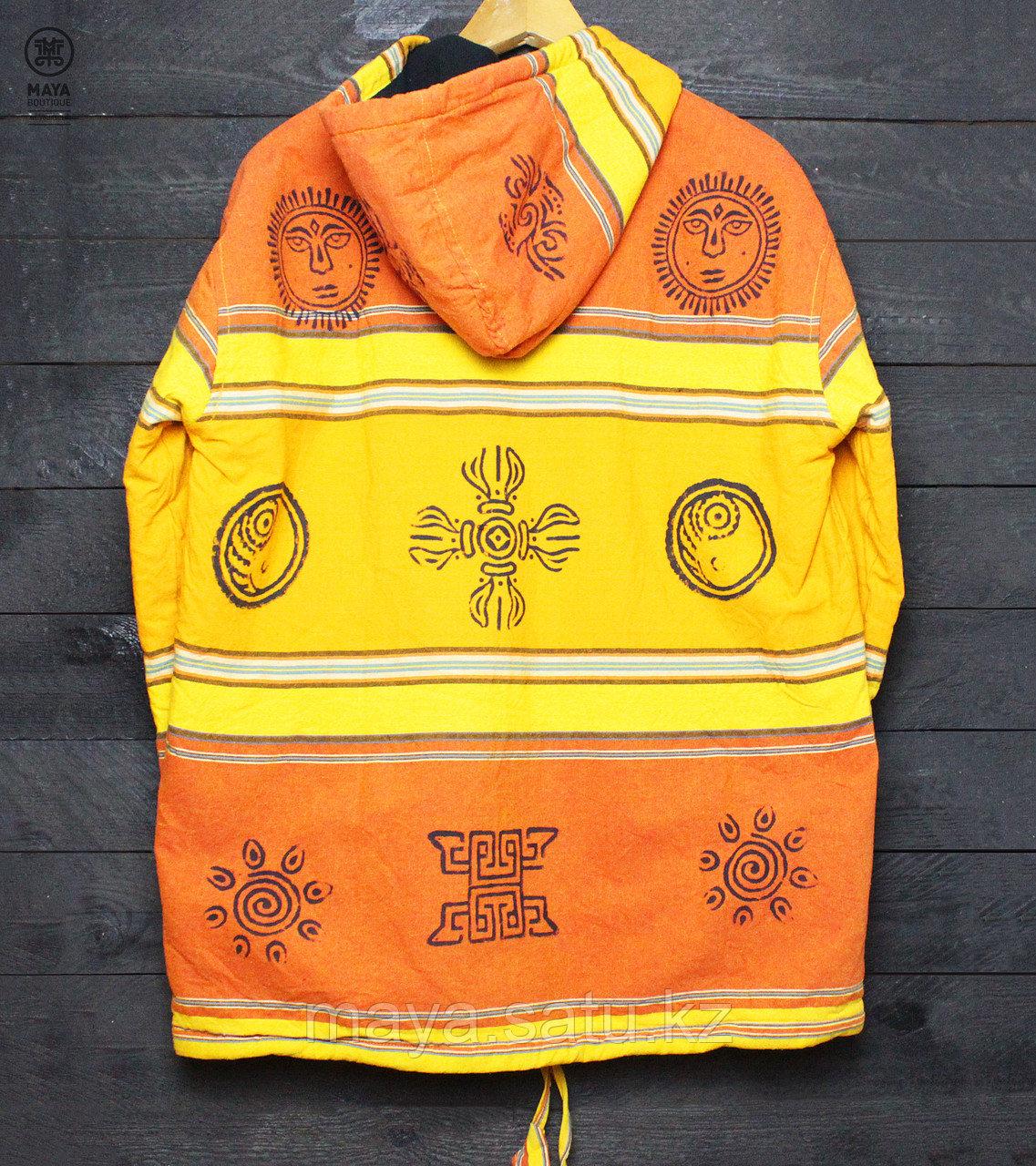Непальская куртка с этническими рисунками - фото 3