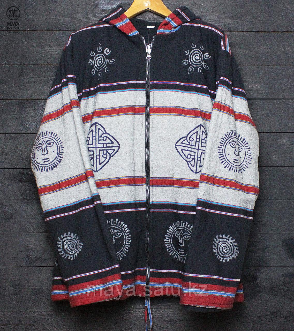 Непальская куртка с этническими рисунками - фото 4