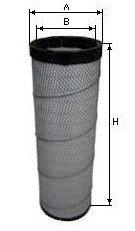 Фильтр воздушный внутр  на RENAULT, РЕНО, SAMPIYON CR0040