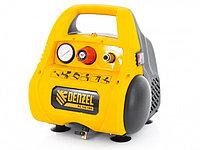 Компрессор воздушный безмасляный РС 1/6-180,1, 1 кВт, 180 л/мин, 6 л Denzel