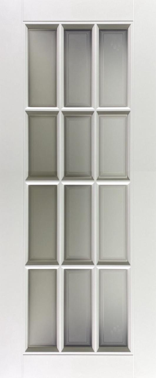 Межкомнатная дверь модельСиюта эмаль белая