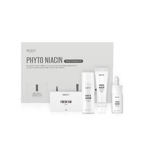 Nacific Мини-набор осветляющий для лица Phyto Niacin Whitening Kit
