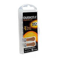 Батарейка для слухового аппарата DURACELL Activair 6шт