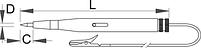 Тестер автомобильный 6-12/24 В - 631B UNIOR, фото 2