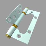 Межкомнатная дверь модель Сиюта эмаль белая, фото 8