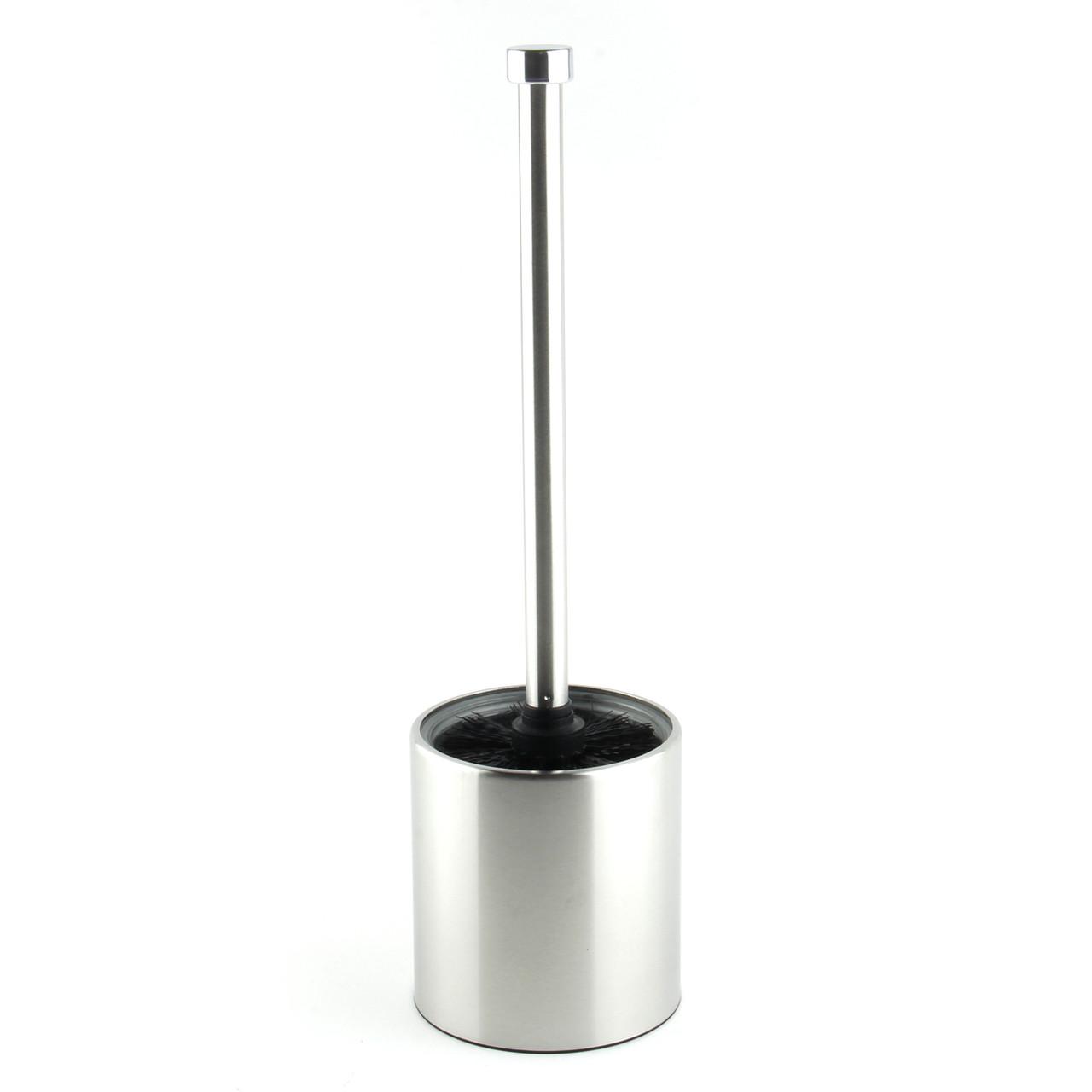 Ершик металлический напольный для унитаза TBR003 (хром)