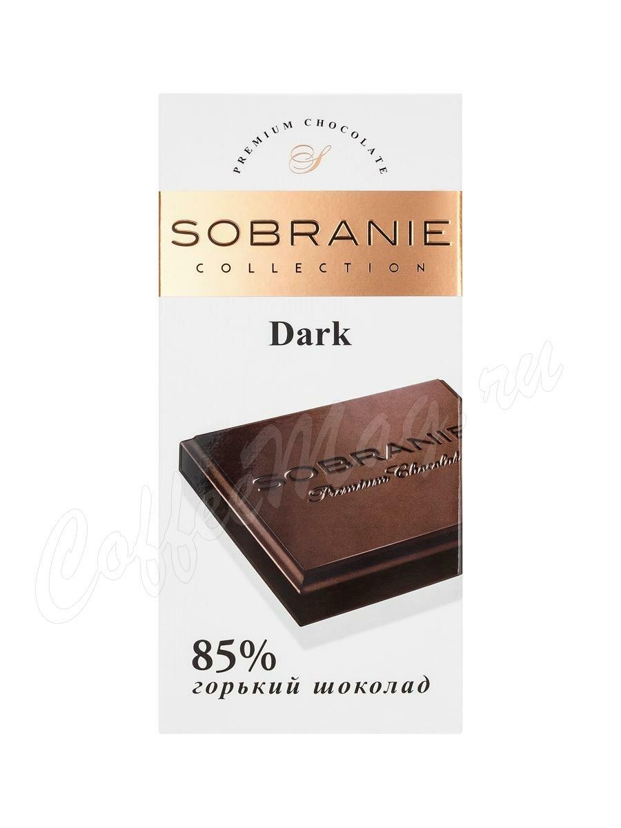 SOBRANIE  горький шоколад 90гр (10шт - упак)