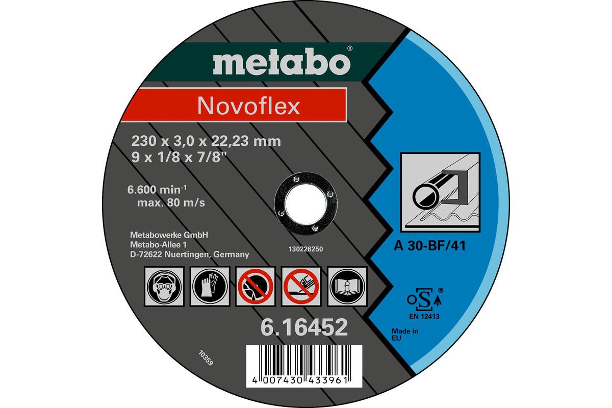 Диск Metabo NOVOFLEX 150X3,0X22,23, СТАЛЬ, TF 41