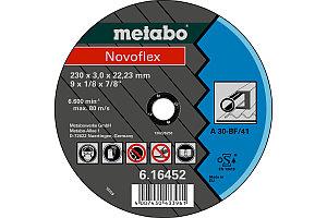 Диск Metabo NOVOFLEX 180X6,0X22,23, СТАЛЬ, SF 27