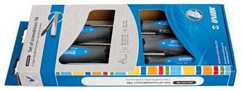 Набор отвёрток, рукоятки TBI, в картонной упаковке - 609CS5TBI UNIOR