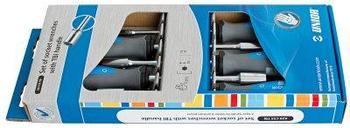 Набор отвёрток с внутренним шестигранником, рукоятки TBI, в картонной упаковке - 629CS5TBI UNIOR