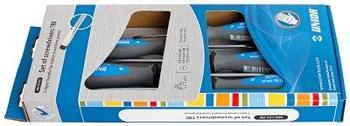 Набор отвёрток, рукоятки TBI, в картонной упаковке - 606CS5TBI UNIOR