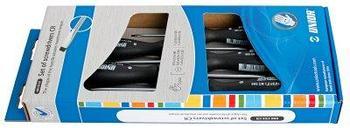 Набор отвёрток, рукоятки CR, в картонной упаковке - 606CS5CR UNIOR