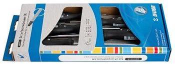 Набор отвёрток, рукоятки CR, в картонной упаковке - 608CS5CR UNIOR