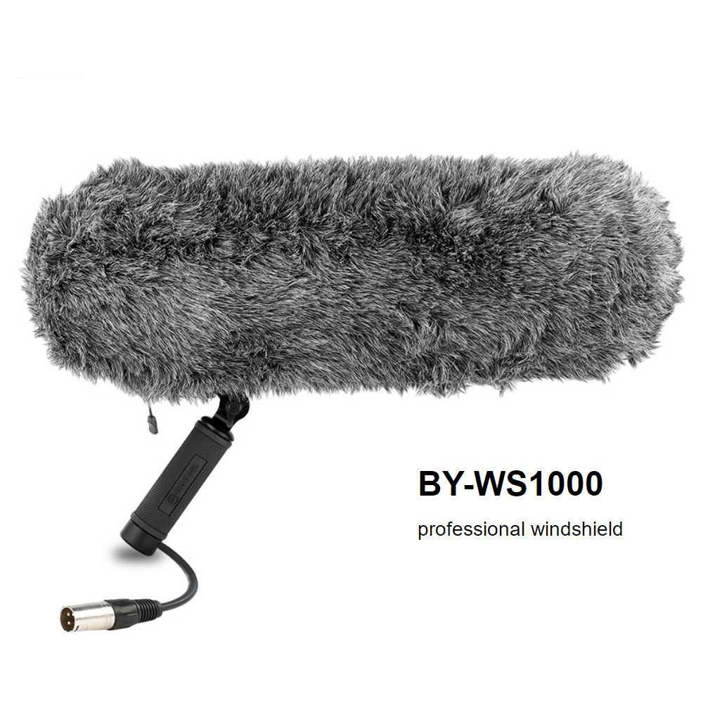 Boya BY-WS1000 с Ветрозащитой