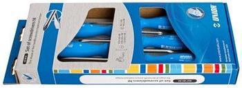 Набор отвёрток, рукоятки NI, в картонной упаковке - 607B5NI UNIOR