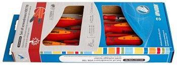 Набор отвёрток изолированных с индикатором, рукоятки TBI, в картонной упаковке - 603CS6TVDETBI UNIOR