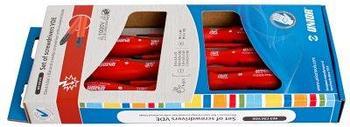 Набор отвёрток изолированных в картонной упаковке - 603CS6VDE UNIOR