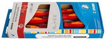 Набор отвёрток с профилем жала TORX изолированных, рукоятки TBI, в картонной упаковке - 621CS6VDETBI UNIOR