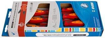 Набор отвёрток изолированных, рукоятки TBI, в картонной упаковке - 603CS6AVT UNIOR
