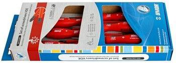 Набор отвёрток изолированных в картонной упаковке - 603CS6AVDE UNIOR