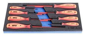 Набор отвёрток крестовых PH изолированных с рукояткой TBI в SOS-ложементе - 964VDE8B UNIOR