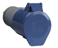 Розетка переносная ССИ-213 2Р+РЕ 16А 200-250В IP44 IEK