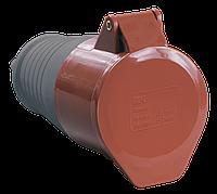 Розетка переносная ССИ-214 3Р+РЕ 16А 380-415В IP44 IEK