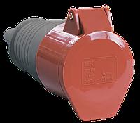 Розетка переносная ССИ-224 3Р+РЕ 32А 380-415В IP44 IEK