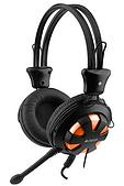 Наушники+микрофон A4tech HS-28 BLACK