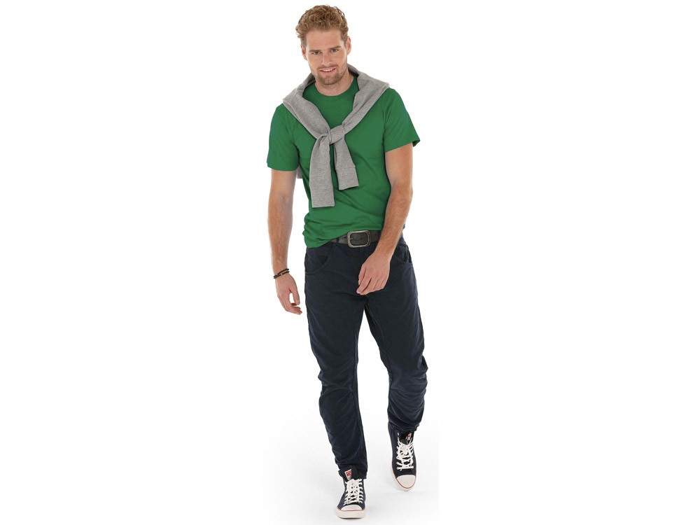 Футболка Super club мужская, зеленый - фото 3