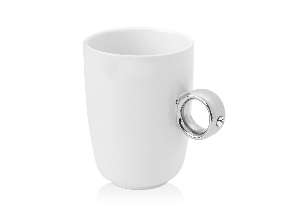 Кружка на 300 мл с ручкой в виде кольца - фото 1