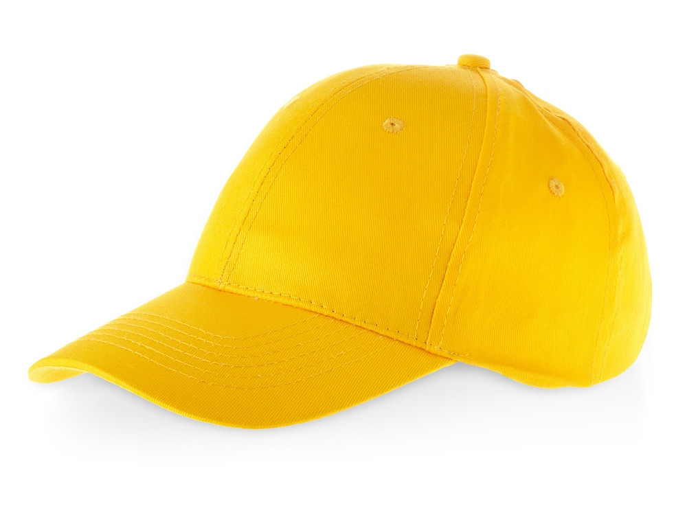 Бейсболка Detroit 6-ти панельная, желтый