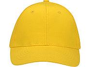 Бейсболка Detroit 6-ти панельная, желтый, фото 2