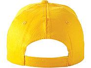 Бейсболка Detroit 6-ти панельная, желтый, фото 3