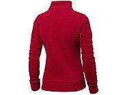 Куртка флисовая Nashville женская, красный/пепельно-серый, фото 3